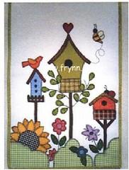 Hummmm ...num pan!!!!! (soniapatch) Tags: flores country patchwork abelhas aplicao passarinhos girassis cercas pan casadepassarinho projetoparapatchwork