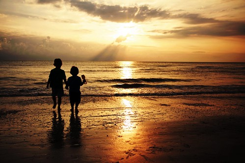 Julian & Gabriel: Brothers at Sunset