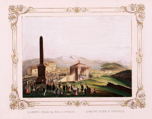 012 Ferdinando I e Maria Anna Carolina  nel litorale in settembre 1844