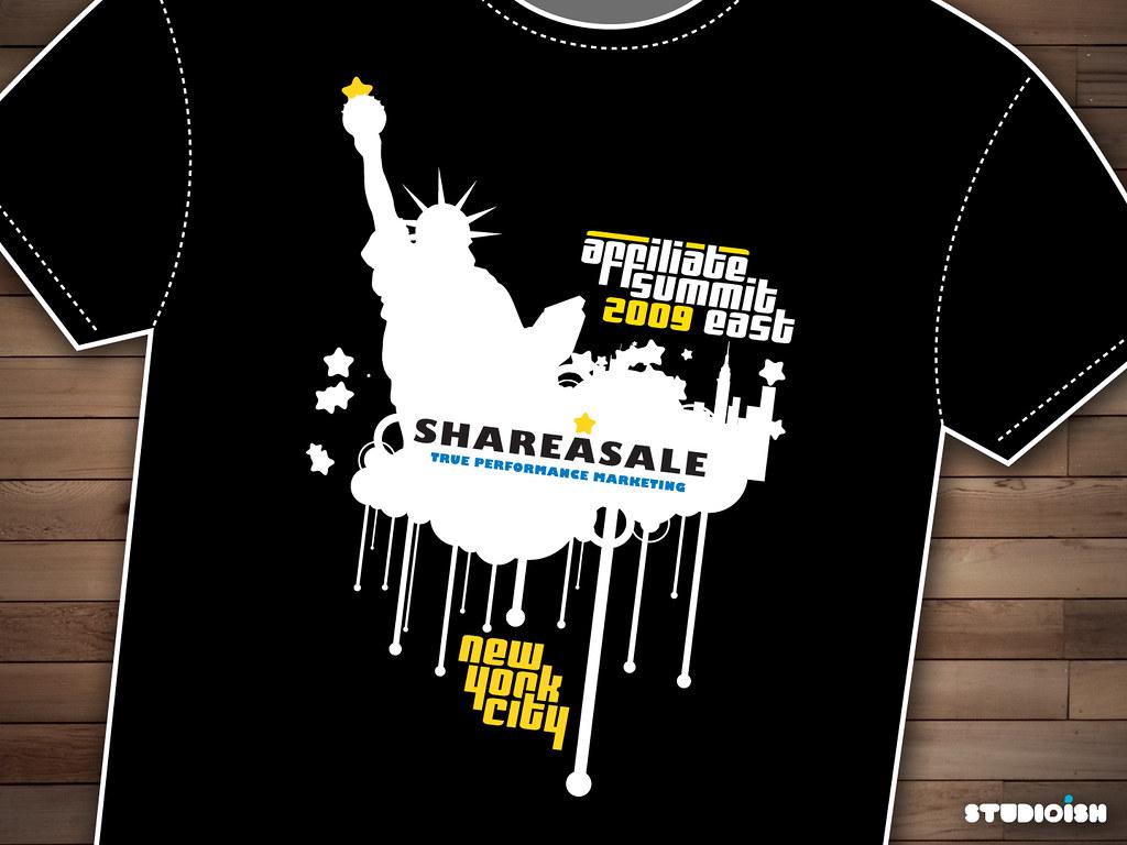 SHAREASALE T-Shirt Design