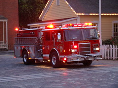 Sacramento FD -- Engine 1 (El Cobrador) Tags: california truck fire engine dash pierce sacramento department apparatus fd