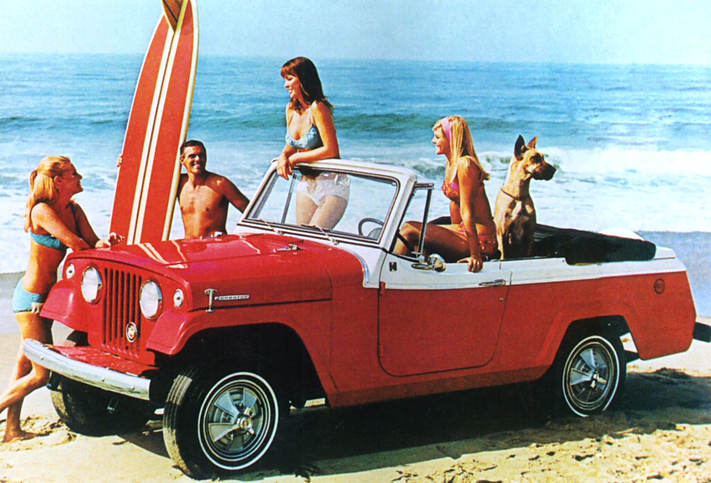 Jeepster Commando on
