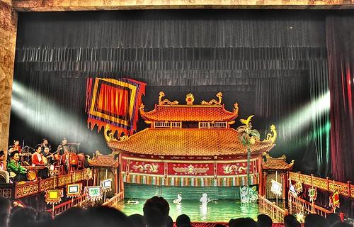 Hanoi's Water Puppet Theatre