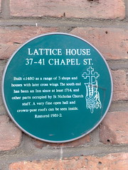 Photo of Green plaque number 1719