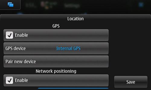 Maemo 5 UI Screenshots