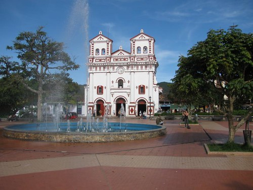 church on the main plaza