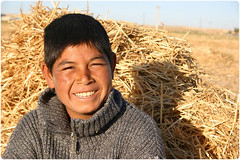 Shepherd Smile (Reza-ir) Tags: portrait people smile work village iran shepherd documentary rancher khorasan