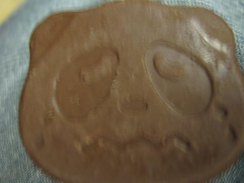 Sad panda cookie
