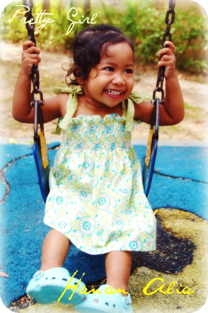 Pretty Girl On The Swing
