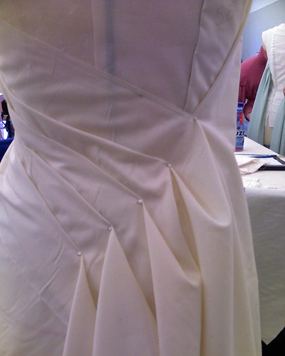 how to make draping dress