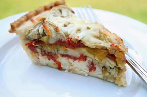 Tomato and Eggplant Pie Recipe