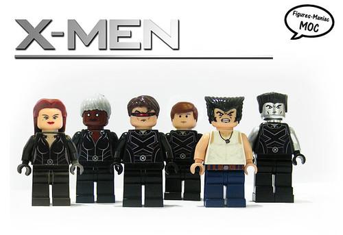 X-Men custom minifig