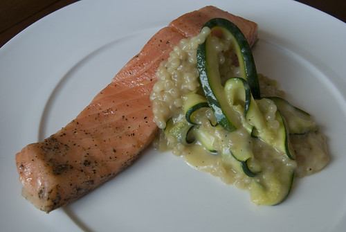 ocean trout and pearl couscous 1