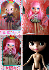 Blybe doll ANOTHER FAKE!!!! (othersescape) Tags: pink color eye eyes doll dolls fake changing clones change blythe clone fakes cce blybe