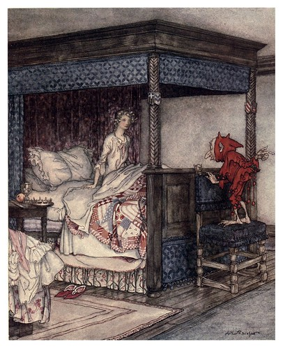 002-Despierta Burd Isbel-Some British ballads 1919- illustrations Rackham Arthur