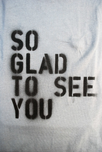 So Glad - tshirt