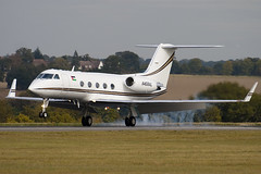 N456AL - 405 - Private - Gulfstream III - Luton - 091015 - Steven Gray - IMG_2488