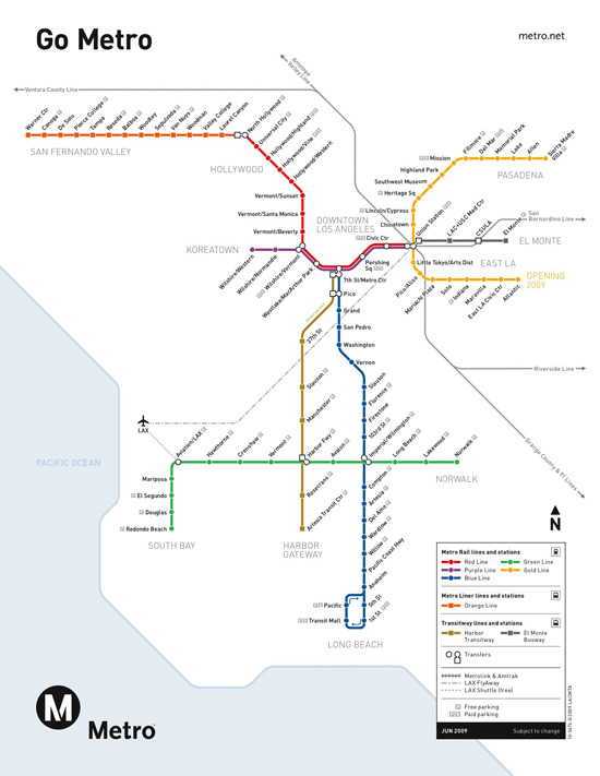 Bet you didnt know: This is the current LA Subway Map.