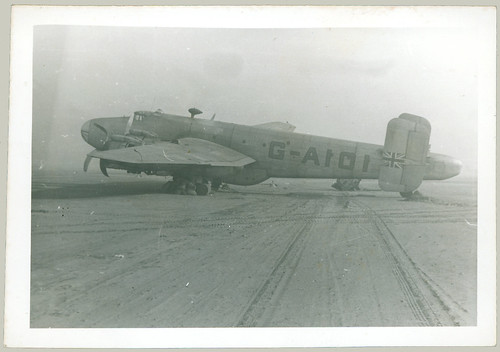 British Bomber gear collapse