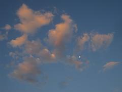 Uluru and around 35 - Full moon over Ayers Rock at sunset (Ben Beiske) Tags: rock nt australia outback uluru australien northern ayers territory