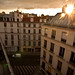 The Sun Sets in Paris