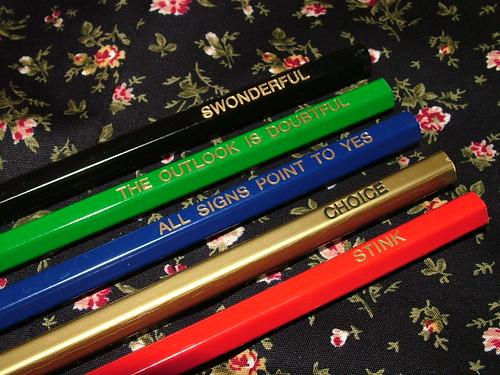 new pencils!
