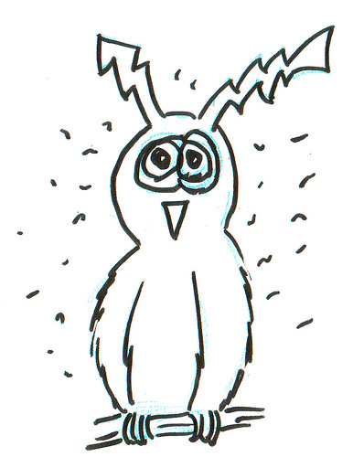 366 Cartoons - 284 - ElectroOwl