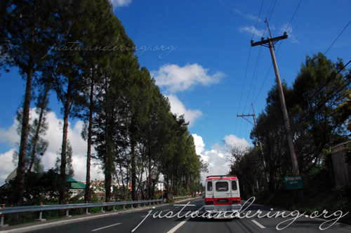 Tagaytay main road