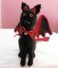 Devil-Cat (Luci-fur) Plushie