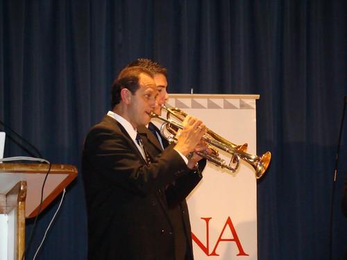 Ensamble de trompetas de la Escuela de Música de la Universidad Nacional