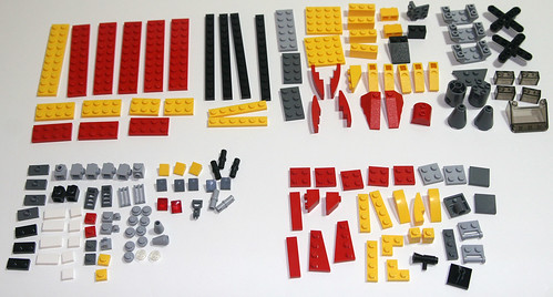 2010 LEGO - Creator 5866 Rotor Rescue - Parts