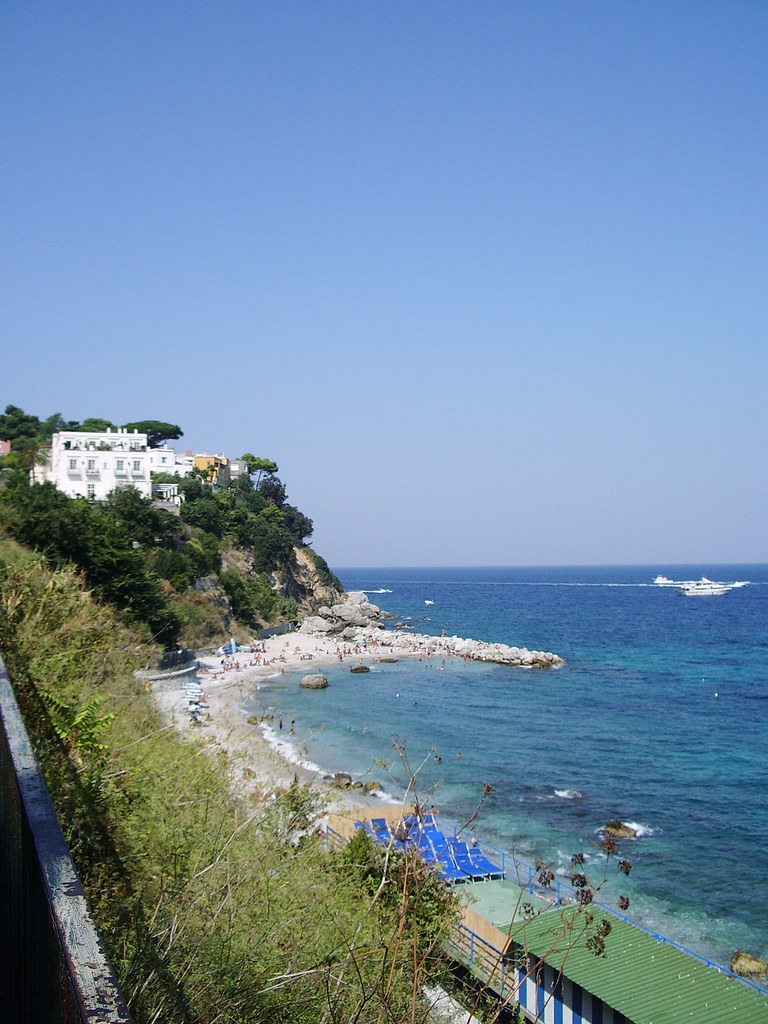 Nice view of Capri beach