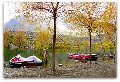 upper kachura lake (TARIQ HAMEED SULEMANI) Tags: pakistan tourism nature trekking hiking lakes soe tariq sceneries northernpakistan skardu kachura abigfave anawesomeshot lakesinpakistan concordians sulemani