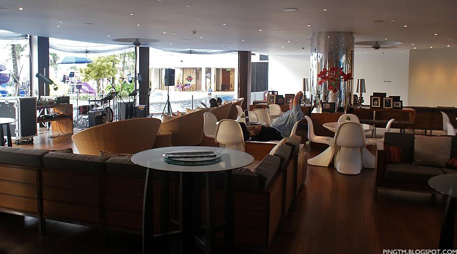 Hard Rock Hotel Penang Lobby