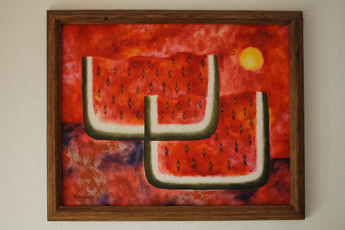 Our Decor: Surreal Watermelons