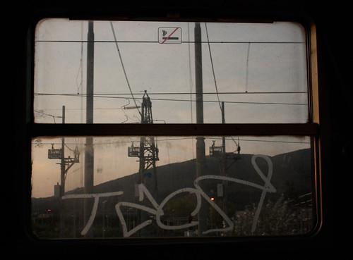 disgrafia su vetro