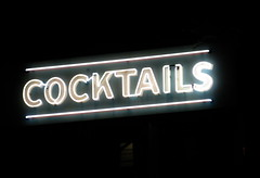 Cocktails at Night, San Francisco, CA (Robby Virus) Tags: sanfrancisco california sign neon cocktails gwsf5party gwsflexicon