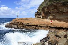 Avoca beach (lukaszwlodas) Tags: ocean beach landscape sydney australia woda avoca plaa pla¿a