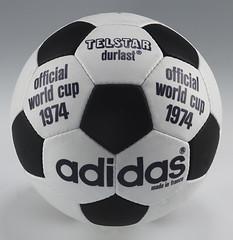 Balón Mundial futbol 1974 Telstardurlast