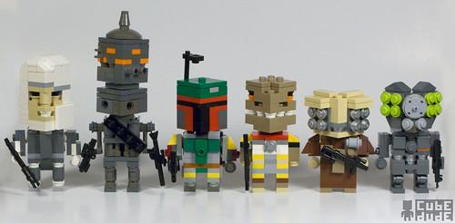 CubeDude Bounty Hunters