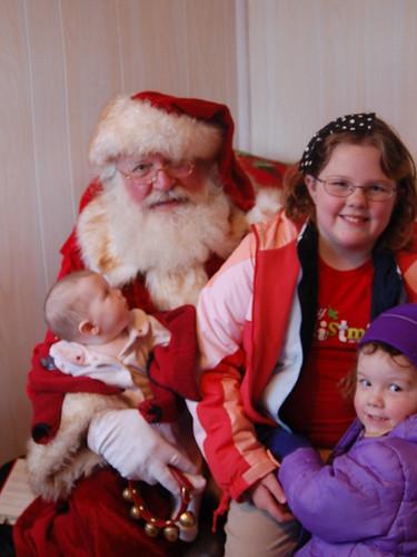 Santa and the Girlies
