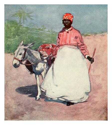 019-Campesina de camino al mercado en Barbados-The West Indies 1905- Ilustrations Archibald Stevenson Forrest
