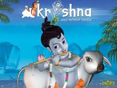 [Poster for Krishna]