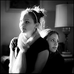 Sisters (prolost) Tags: minnesota saintpaul lizziebrown mimibrown