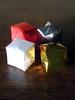 "Origami ""ornaments"""