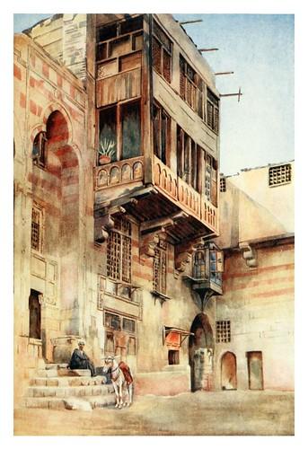 009-Un antiguo palacio en el Cairo-Cairo, Jerusalem, and Damascus..1907- Margoliouth D. S.