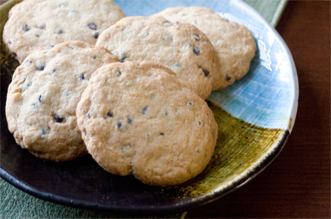 The Pure Pantry Gluten Free Chocolate Chip Cookies