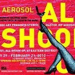 ALL SHOOK UP - Jef Aerosol 2010 - Solo show New-York