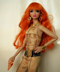 "aka  ""pumpkin spice"" (napudollworld) Tags: fashion barbie amelie nippon bonjour royalty misaki"