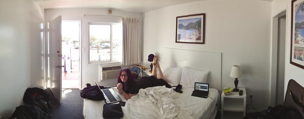 Dolphin Hotel room panorama